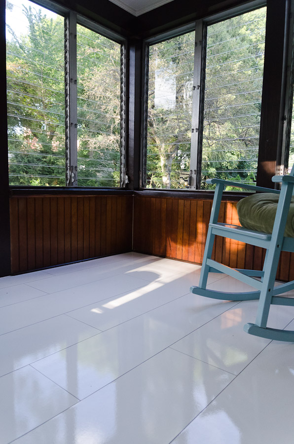 sunroom floor